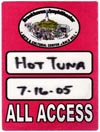 2005-07-16 Backstage Pass